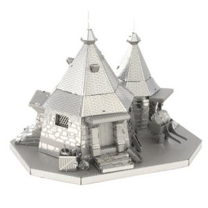 Harry Potter Rubeus Hagrids Hut Metal Earth Model Kit