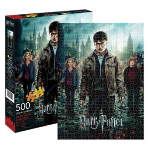 Harry Potter and the Deathly Hallows Part 2 Movie Poster 500 Piece Puzzle