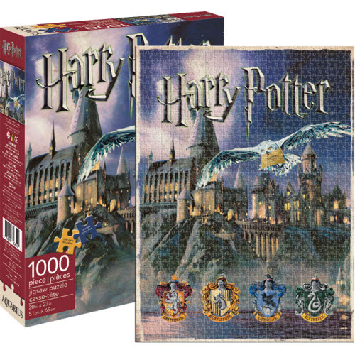 Harry Potter Hogwarts 1000 Piece Puzzle
