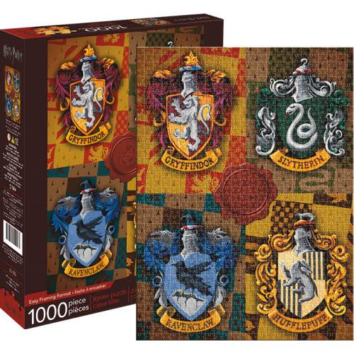 Harry Potter House Crests 1000 Piece Puzzle