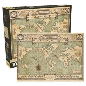 Fantastic Beasts and Where to Find Them Map 1000 Piece Puzzle