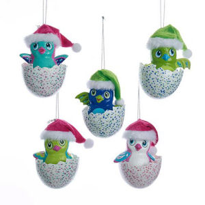 Hatchimals with Hats 3.5 -Inch Ornament Case