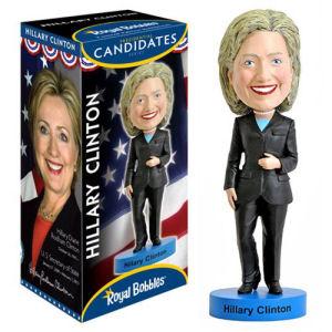Hillary Clinton Bobble Head