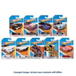 Hot Wheels Worldwide Basic Cars 2017 Wave 14 Case