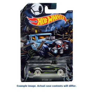 Hot Wheels Halloween 2016 Die-Cast Metal Vehicle Case