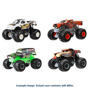 Hot Wheels Monster Jam 1/24th Scale 2017 Wave 6 Case