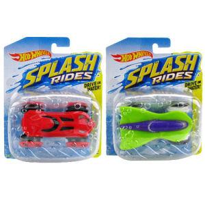 Hot Wheels Splash Rides Vehicles Case