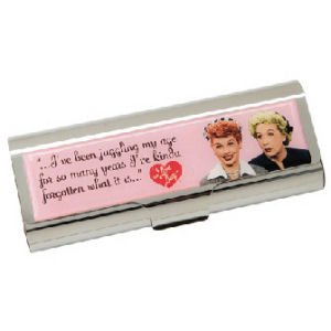 I Love Lucy Large Metal Box
