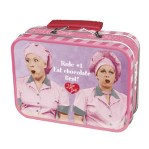 I Love Lucy Job Switching Mini Tin Tote