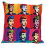 I Love Lucy Warhol Art Throw Pillow.