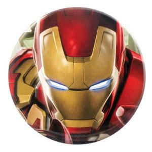 Marvel Iron Man Bottle Opener Button Magnet