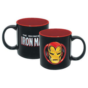 The Invincible Iron Man Iridescent 20 Ounce Ceramic Mug