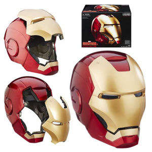 Marvel Legends Iron Man Electronic Helmet. The detailed interior mimics serious circuitry.
