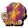 Janis Joplin Get it Funky Chunky Magnet.
