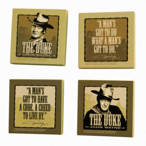 John Wayne Set of 4 Magnets