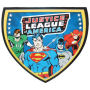 From the Westland Giftware DC Comics Collection. Justice League of America Wall Clock.  Measures 13 Inches High.