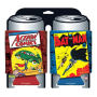 DC Comics 1st Issues Can Hugger 2 Pack. Action comics #1 and Batman #1 on a pair of can coolers.