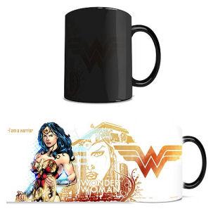 DC Comics Justice League Wonder Woman Morphing Mug