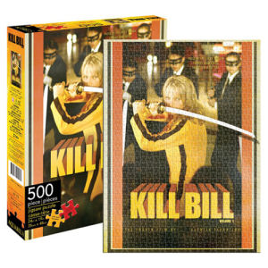 Kill Bill Vol. 1 Movie Poster 500 Piece Puzzle