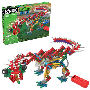 KNEX KNEXosaurus Rex Building Set. Build a walking dinosaur. Requires 2x AA batteries that are not included. Recommended for ages 7 and up.