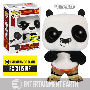 Kung Fu Panda Flocked Po Pop! Vinyl Figure.