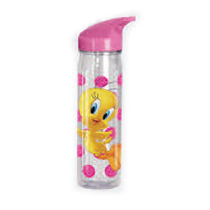 Looney Tunes Tweety Flip Top Water Bottle