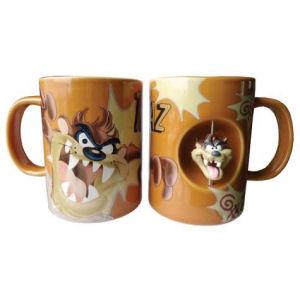 Warner Brothers Looney Tunes Taz Spinner 12 Ounce Ceramic Mug