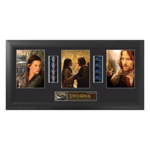 The Lord of the Rings Fellowship of the Ring Series 1 Trio Film Cell