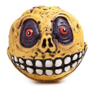 Madballs Skull Face 4 Inch Foam Figure