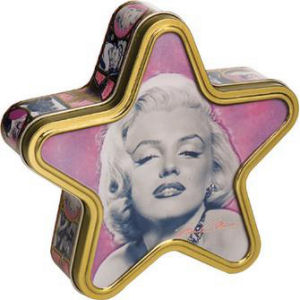 Marilyn Monroe Star Tin Box
