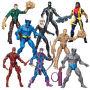 Marvel Infinite Action Figures Wave 5 Case. Case includes 12 individually packaged action figures - 1 BISHOP- 2 BIG TIME SPIDERMAN - 1 BLACK CAT - 2 CLASSIC SANDMAN - 1 SANDMAN - 2 BLUE BEAST -