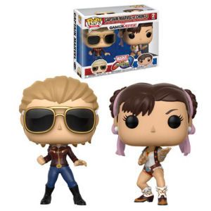 Marvel Vs Capcom Captain Marvel Vs Chun-Li Pop! Vinyl 2-Pack