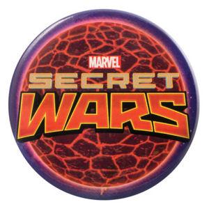 Marvel Secret Wars Logo Bottle Opener Button Magnet