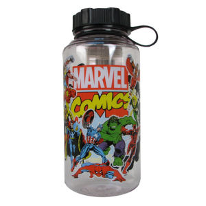 Marvel Comics Group Shot 20 Ounce Plastic Water Bottle