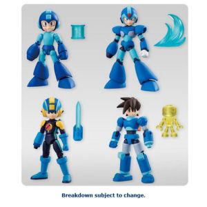 Mega Man 66 Action Mini-Figures Display Box