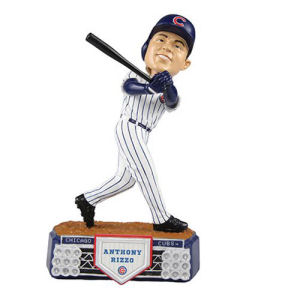 MLB Chicago Cubs Anthony Rizzo Stadium Lights Bobble Head