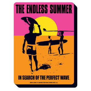 Endless Summer Movie Poster Funky Chunky Magnet