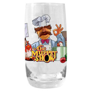 Muppets Swedish Chef Tumbler Pint Glass