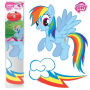 My Little Pony Rainbow Dash Car Graphics Set.