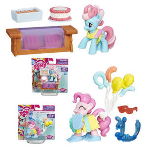 My Little Pony Friendship is Magic Collection Mini Mrs Dazzle Cake Pack