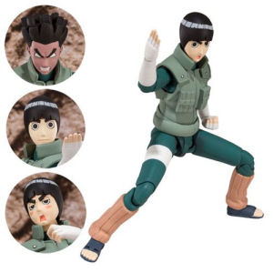 Naruto Shippuden Rock Lee SH Figuarts Action Figure.