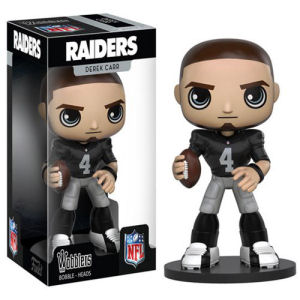 NFL Derek Carr Bobble Head
