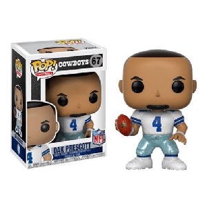 NFL Dak Prescott Dallas Cowboys Home Wave 4 Pop! Vinyl Figure #67