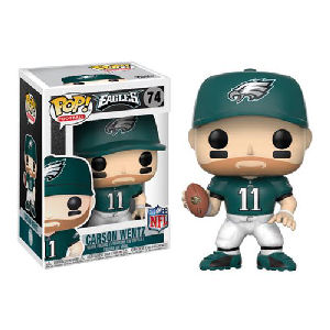 NFL Carson Wentz Philadelphia Eagles Home Wave 4 Pop! Vinyl Figure #74