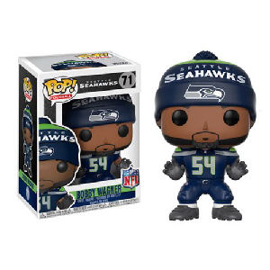 NFL Bobby Wagner Seattle Seahawks Home Wave 4 Pop! Vinyl Figure #71
