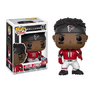 NFL Julio Jones Atlanta Falcons Home Wave 4 Pop! Vinyl Figure #72