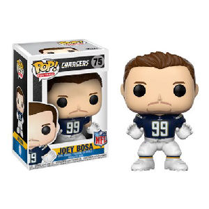 NFL Joey Bosa Los Angeles Chargers Home Wave 4 Pop! Vinyl Figure #75