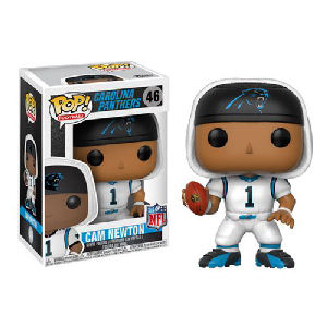 NFL Cam Newton Carolina Panthers White Wave 4 Pop! Vinyl Figure #46