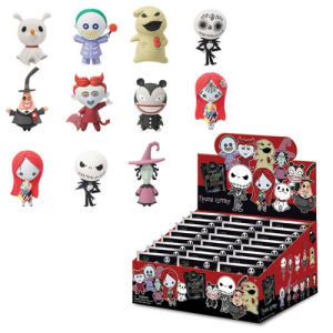 Nightmare Before X-Mas Mini-Figure Key Chain Master Carton