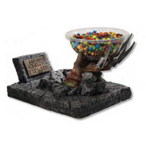 Nightmare on Elm Street Freddy Krueger Grave Hand Candy Bowl Holder